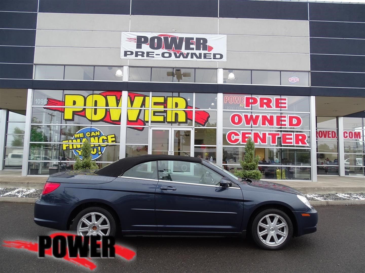 Pre Owned 2008 Chrysler Sebring Touring Fwd Convertible