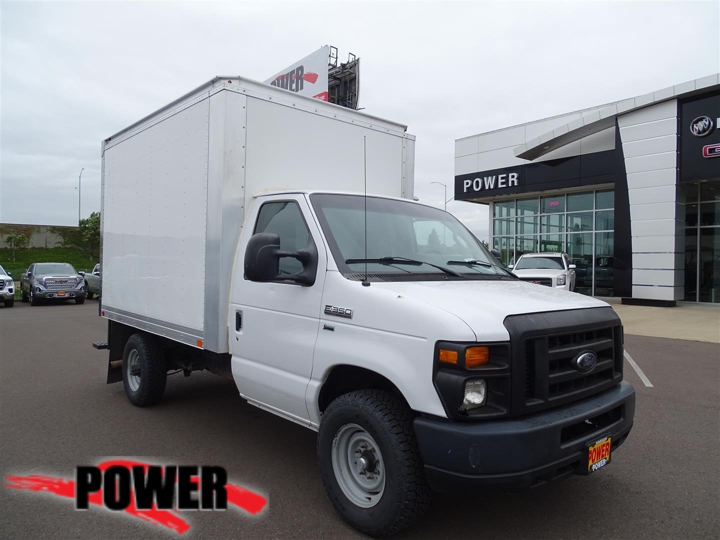Pre-Owned 2012 Ford Econoline Commercial Cutaway 10 Box E-350 SUPER DUTY