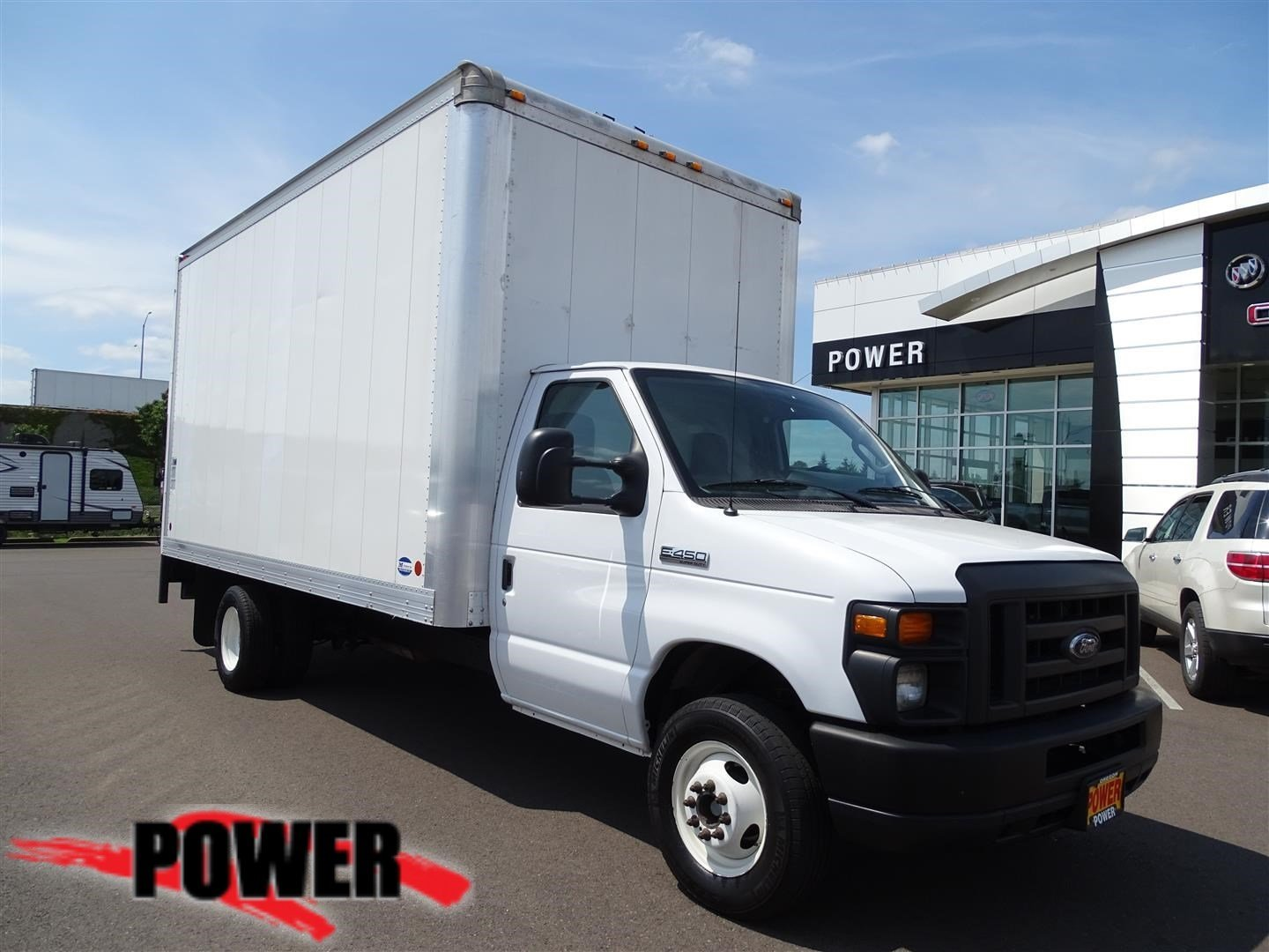 Pre-Owned 2011 Ford Econoline Commercial Cutaway 16' Box