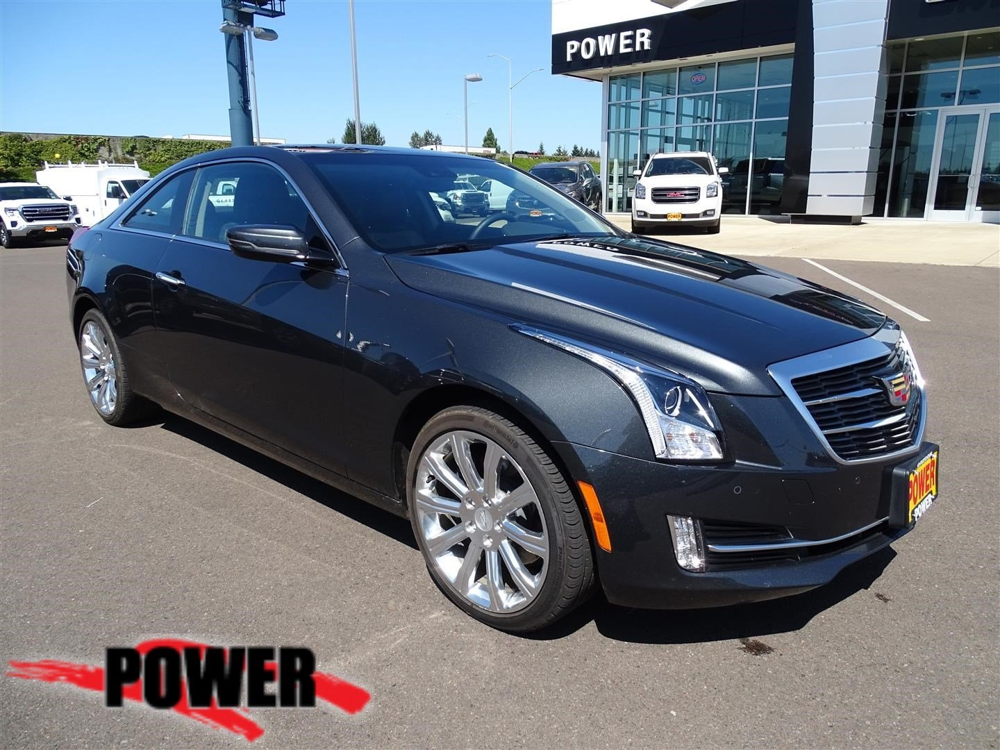 Pre-Owned 2015 Cadillac ATS Coupe Performance AWD