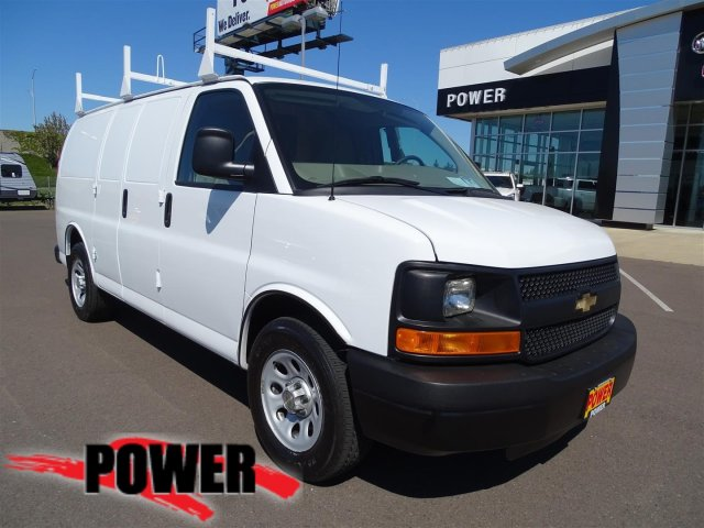 Pre-Owned 2013 Chevrolet Express Cargo Van 1500 RWD 135