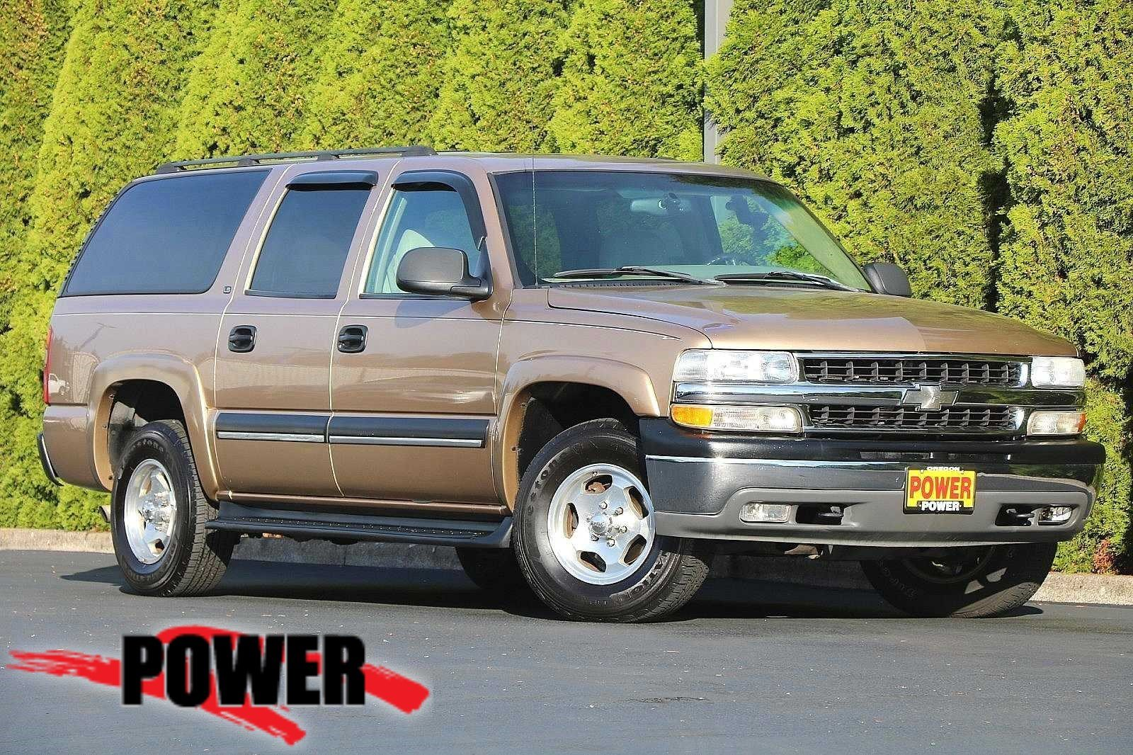 Pre-Owned 2001 Chevrolet Suburban LS