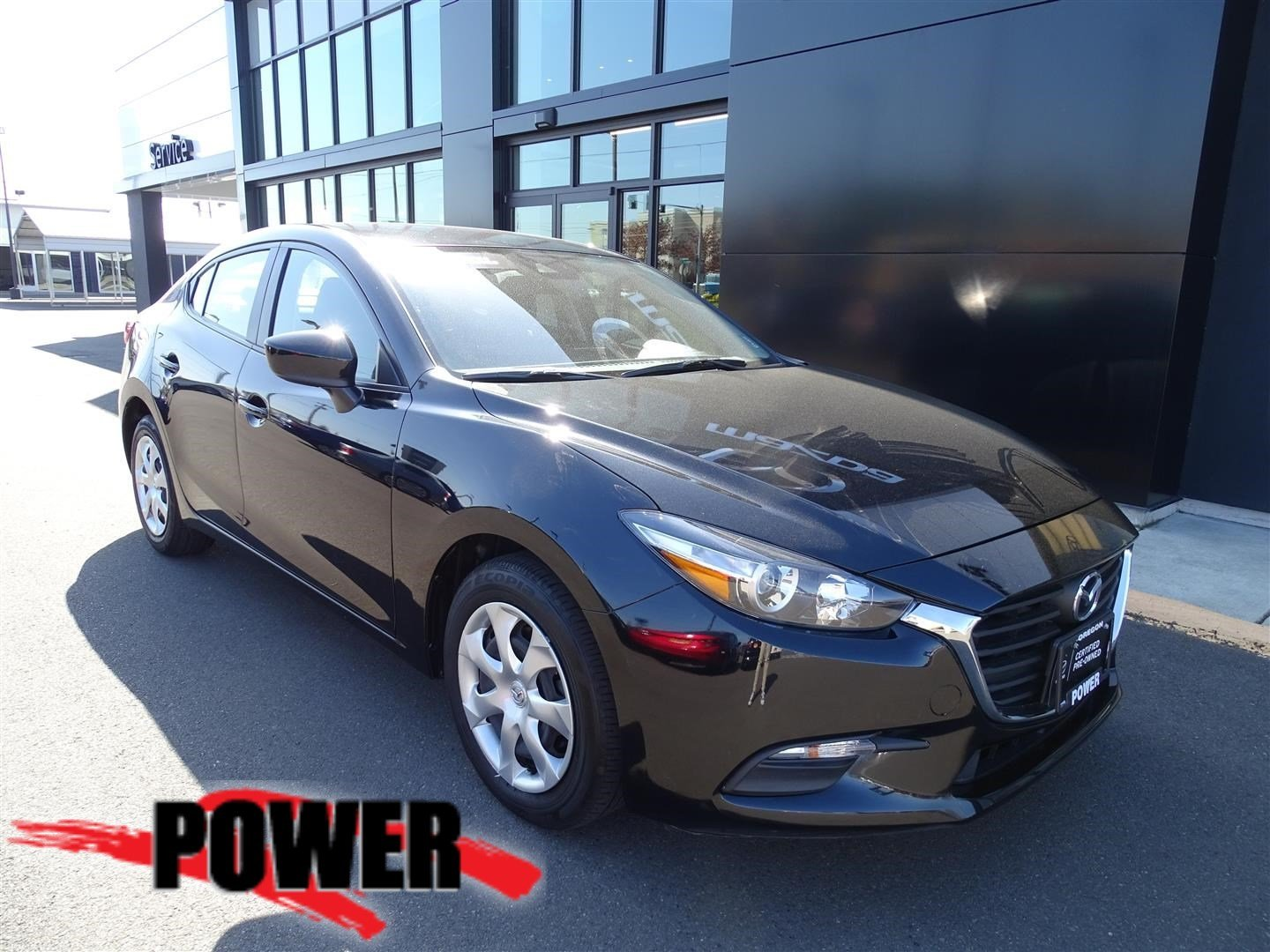 Pre-Owned 2018 Mazda3 4-Door Sport