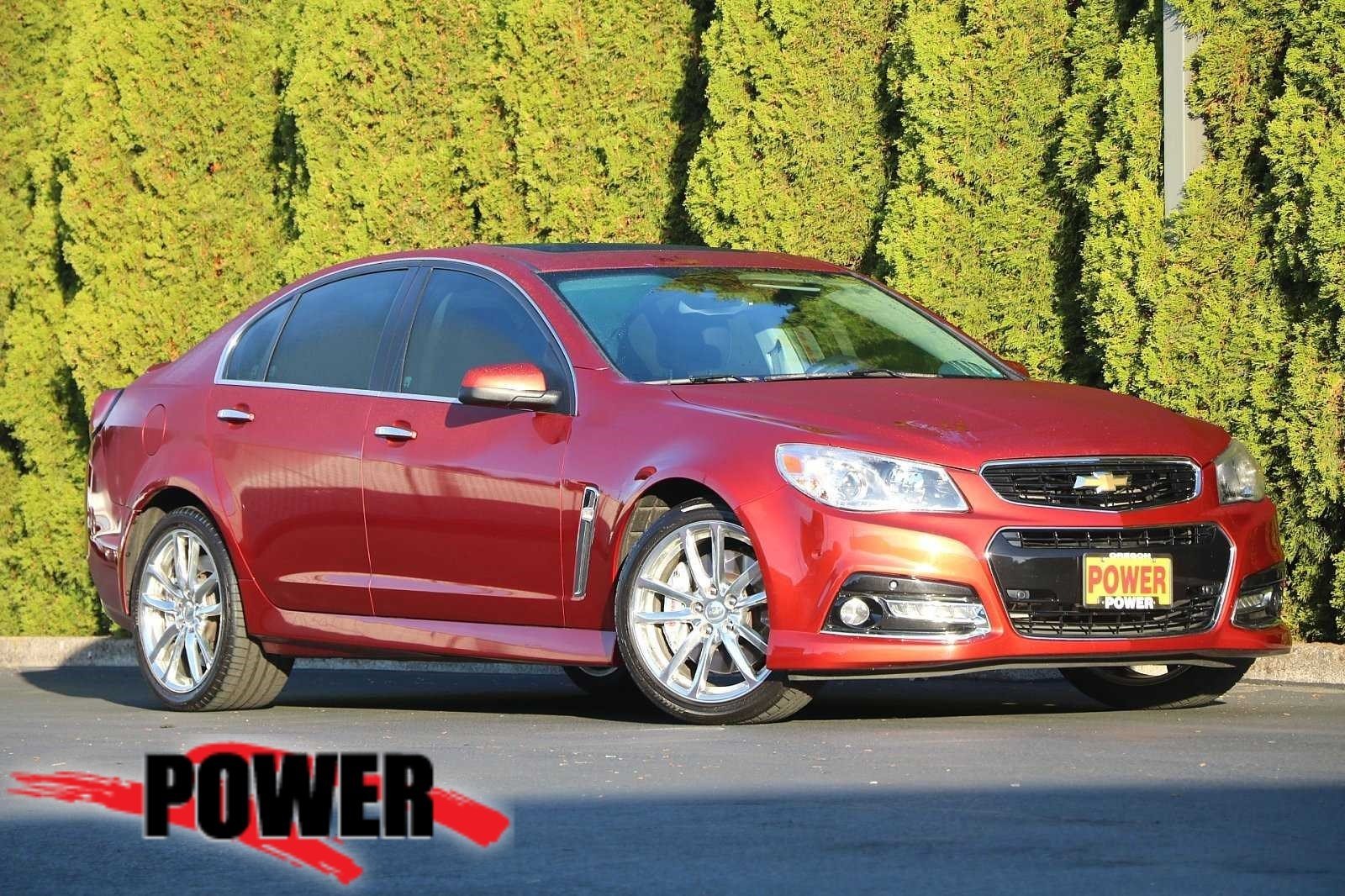Pre-Owned 2015 Chevrolet SS 4DR SDN