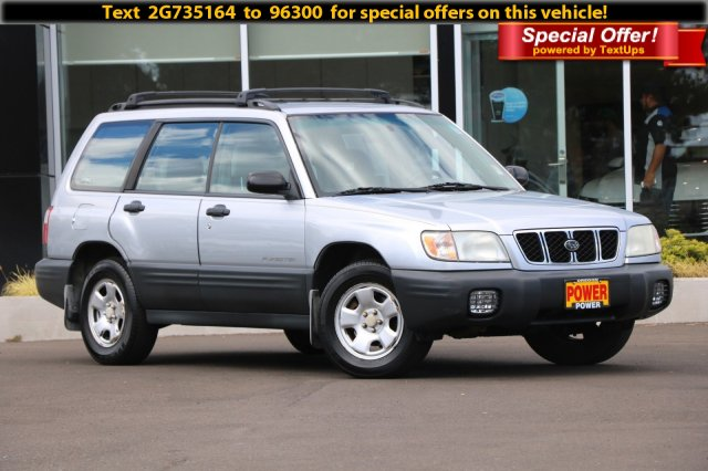 Pre-Owned 2002 Subaru Forester L