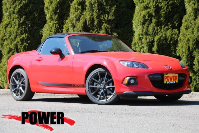 Pre-Owned 2015 Mazda MX-5 Miata Club