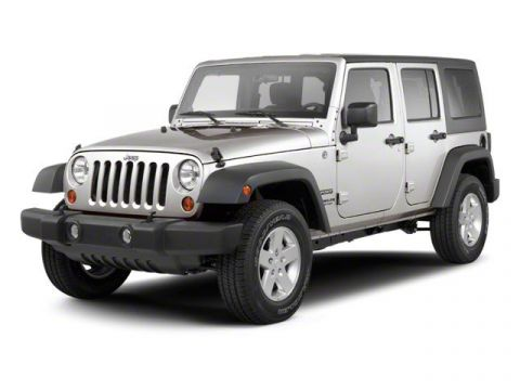 Pre-Owned 2012 Jeep Wrangler Unlimited Sahara