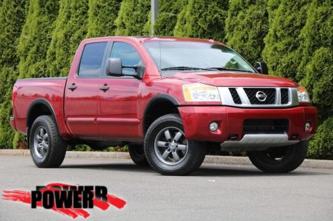 Pre-Owned 2013 Nissan Titan PRO-4X
