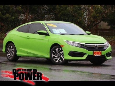 Pre-Owned 2018 Honda Civic Coupe LX-P