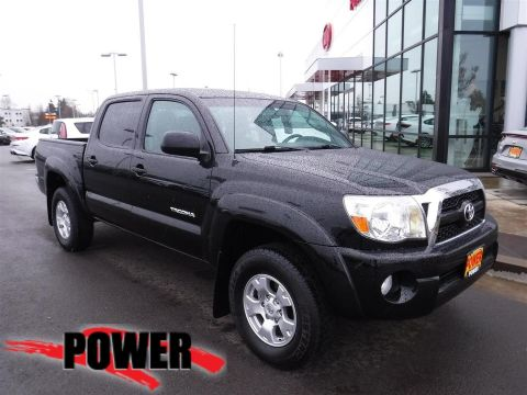 Pre-Owned 2011 Toyota Tacoma DBL CAB 4WD V6 AT