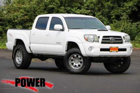 Pre-Owned 2010 Toyota Tacoma DBL CAB 4WD AT
