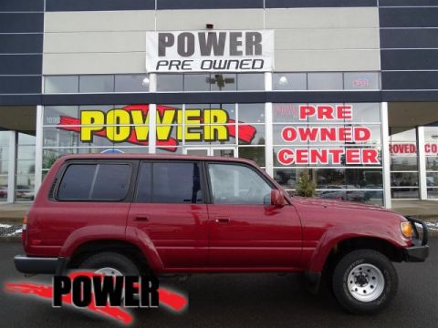 Pre-Owned 1991 Toyota Land Cruiser 4DR 4WD